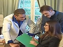 Office Threesome with Karen Lancaume