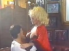 Incredible facial classic clip with Helga Sven and Kari Foxx