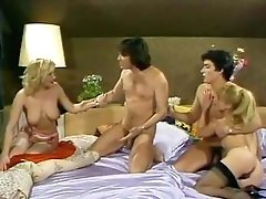 Amazing vintage scene with Dominique Saint-Clair and Jenny Sisley