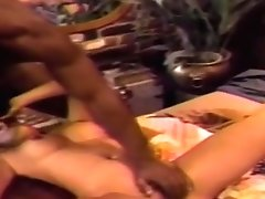Brunette Vintage Girl Is Fucked By A Big Black Dick