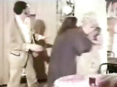 Classic Catfights- Naked Catfight Between Waitresses