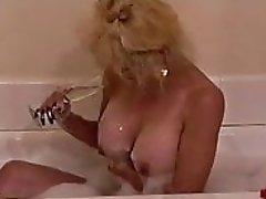 new titties first bath