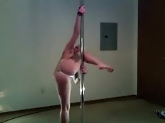 vintage twerk pole dance