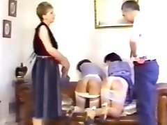 Being spanked