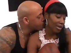 Incredible porn scene Black check show