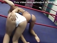 sexy athletic defeats out of shape jobber