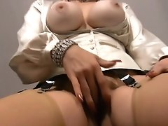 Mistress Trinity - hairy sexy teacher full-clothed