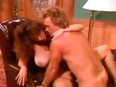 Classic babe Christy Canyon banged hardcore in 1987