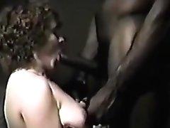 granny takes black cock almost vintage