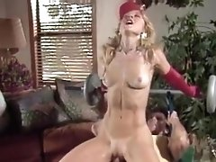 Nina Hartley lady in red hotest ass