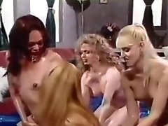 Pussy Licking And Ass Dildoing Lesbian Babes.