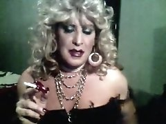 Vintage MzRoxy Smoking Bling And Long Nails