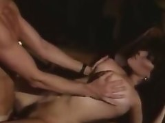 Orgasm movie with sexy lady on the floor