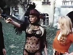 Joelle Coeur, Marie-France Morel, Brigitte Borghese in old-school fuck clip