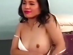 Vintage asian amateur assfucked before facial