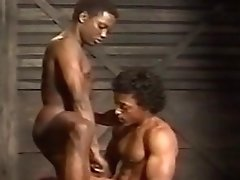 Magnificent Black Guys Fuck on a Train - BULLET VIDEOPAC 12: BLACK BULLET