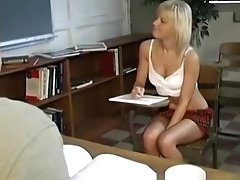 Young babe anally fucked and facialized by hung professor