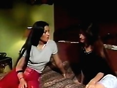 Retro girl/girl pornography movie with promiscuous horny women