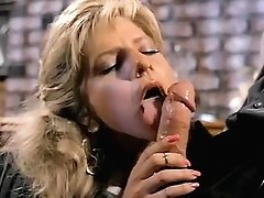 Angela Summers, Jon Dough in nasty facial cumshot popshot for a classical porno chick