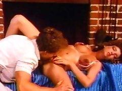 Kathy Harcourt, Don Fernando, Jesse Adams in classical orgy movie