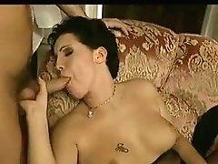 Antique clip shows swingers shagging