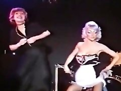 2 sexy glamourgirls vintage striptease in a night club 2