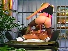 Blonde Babe Takes A Big Dick In Her Vintage Vagina